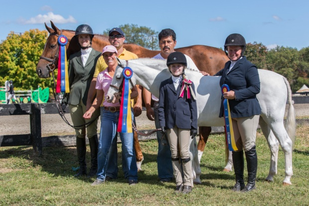 The Skyland Farm team celebrates their successes on the HITS Culpeper circuit.
