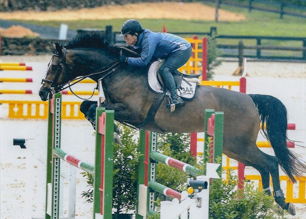 Cirena and Denice Perry at the Upperville Colt & Horse Show