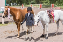 Virginia Bonnie rode Prom Queen and Wink And Smile to fourth and fifth in the Pony Hunter Classic!