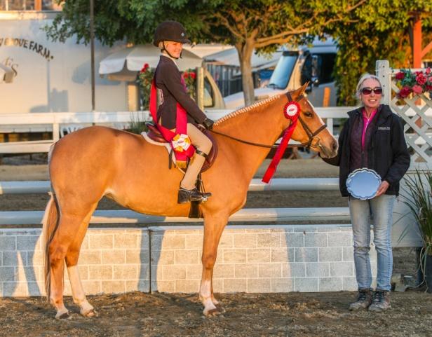 Virginia Bonnie earns West Coast Pony Equitation Reserve Championship
