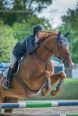 Alex Tippett and El Cano on their way to top ribbons at the 2014 Upperville Colt & Horse Show