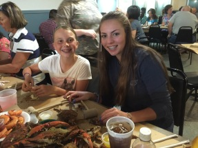 Crab Feast at Captain Pell's
