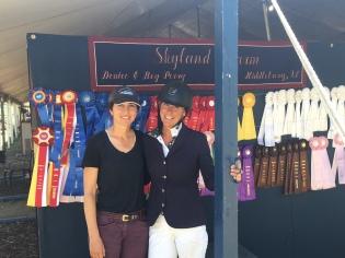 Chiara Carney and Leslie Kopp
