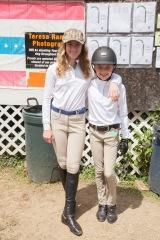 Virginia Bonnie and Emma Pell