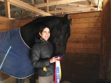 Champions Chiara and Fenwick