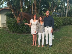 Ironman with Michele, Denice and Roy Perry