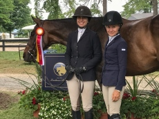 Chiara Carney and Michele Trufant
