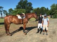 El Cano with Leslie Kopp and Orlando Cruz